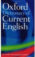 Oxford Dictionary of Current English 4th Ed