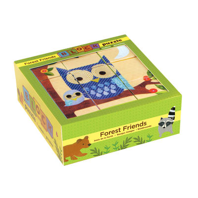 Forest Friends Block Puzzle