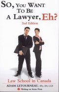 So,You Want to Be Lawyer, Eh? Revised