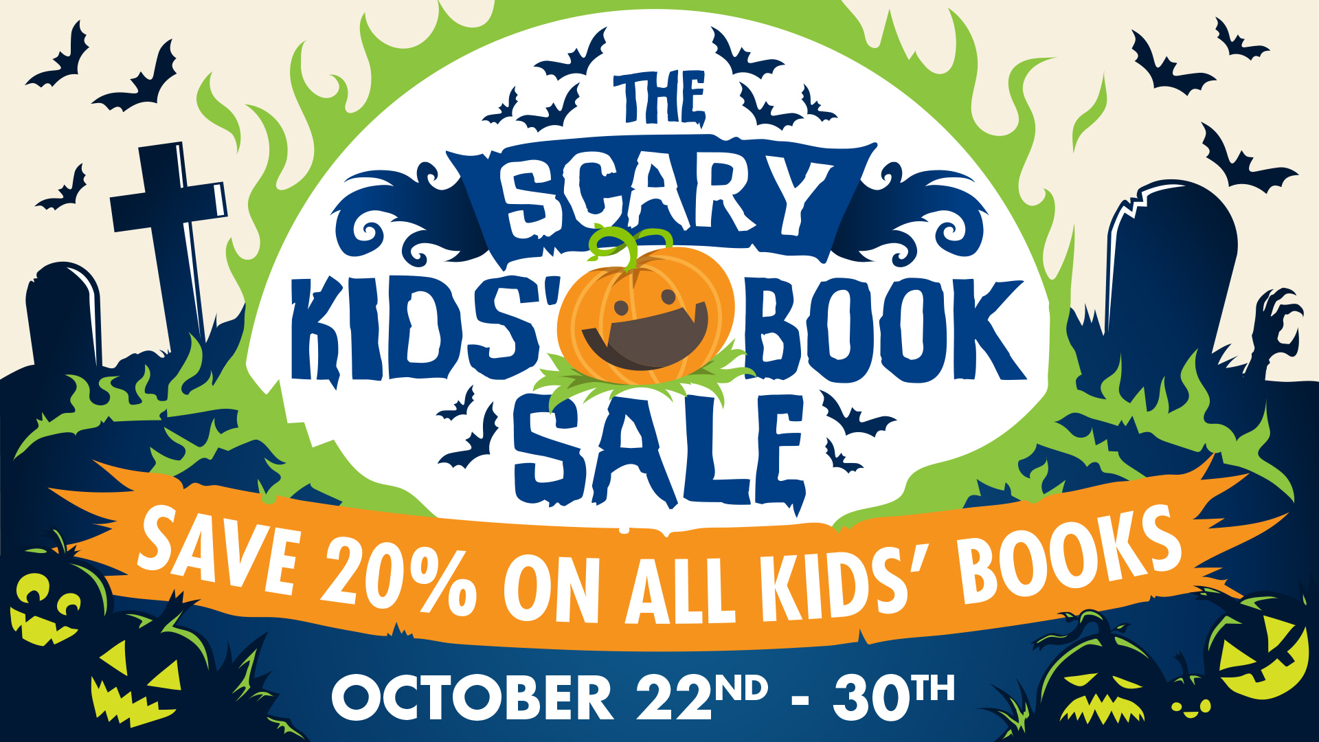 Scary Kids Book Sale 2018