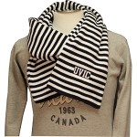 UVIC Stripped Scarf