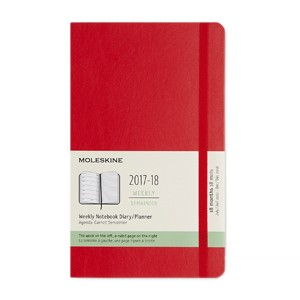moleskine 2017 2018 weekly planner pocket size uvic bookstore
