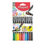 Maped 0.4mm Fineliner with Stencils