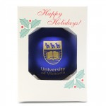 UVic Crested Holiday Ornament