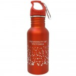 Red UVic Water Bottle