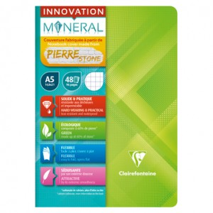 Clairefontaine Innovation Mineral Notebook - A5