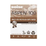 Aspen 100 Recycled Copy Paper