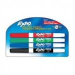 4- Pack Fine Expo Dry Erase Markers