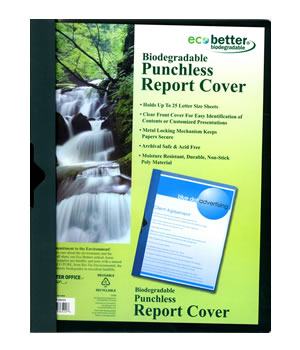 Biodegradable Report Cover
