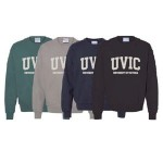 Champion: UVIC Garment Dyed Fleece Crew