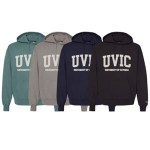 Champion: UVIC Garment Dyed Fleece Hoodie