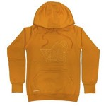 Lionheart Sports: VIKES Tone-on-tone Athletic Hoodie (Gold)