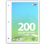 200 Sheet Looseleaf Paper Pack