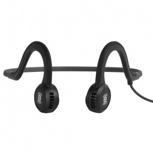 Aftershokz Sportz Titanium Wired Headphone - Onyx Black