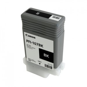 Canon 6705B001 (PFI-107BK) Ink Cartridge - Black