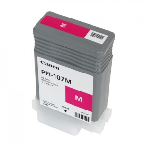 Canon 6707B001 (PFI-107M) Ink Cartridge - Magenta