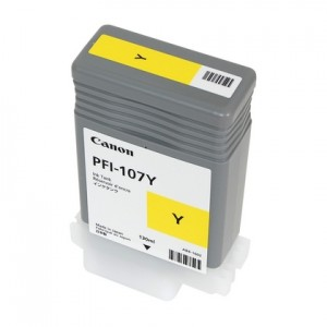 Canon 6708B001 (PFI-107Y) Ink Cartridge - Yellow