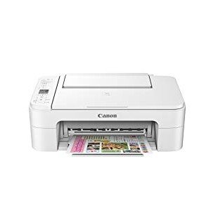Canon PIXMA TS3120 Wireless All-In-One Printer - White