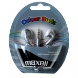 Maxell Colour Buds - Silver