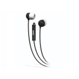 Maxell Earbuds  with Mic/Remote Black