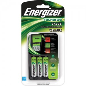 Energizer Value Charger 4 AA or AAA
