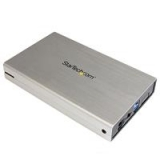 3.5in Silver USB Startech3.0 External SATA III Hard Drive Enclosure