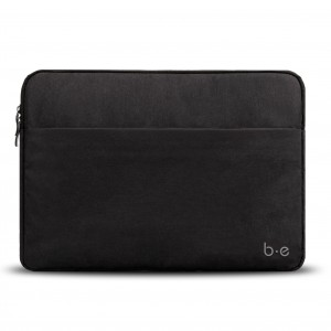 "Blu Element Canvas Sleeve for MacBook and Laptop 15"" - Black"