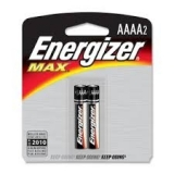 Energizer AAAA 2 Pack