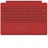 Surface Pro 4 Keyboard Cover Red