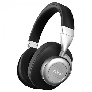 Display Unit Only - BÖHM B76 Bluetooth Wireless Noise Cancelling Headphones with Inline Microphone - Black / Silver