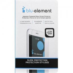 Blu Element iPhone 6+/6S+/7+/8+ Tempered Glass Screen Protector