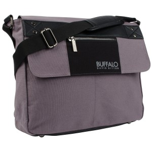 Buffalo Frank Messenger Bag - Grey