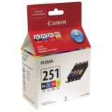 Canon 251 Black/Colour Combo Cartridge