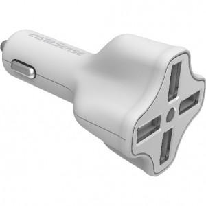 Digipower 6.2A 4-Port Car Charger