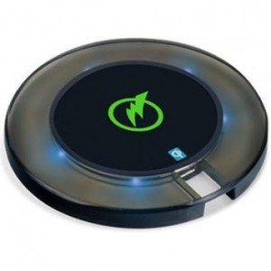 Digipower Qi Wireless Charging Pad with 2.0A Wall Charger