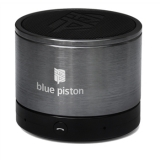 Blue Piston Wireless Bluetooth Speaker - Grey
