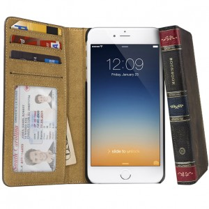 Twelve South BookBook for iPhone 6/6s - Vintage Brown