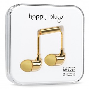 Happy Plugs Deluxe Edition - Gold