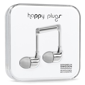 Happy Plugs Deluxe Edition - Silver