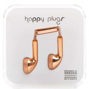 Happy Plugs Earbuds - Rose Gold