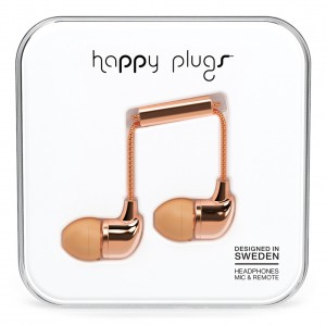 Happy Plugs Deluxe Edition - Rose Gold