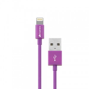 Kanex MiColour Lightning Cable Lightning - USB Cable - 4Ft - Purple