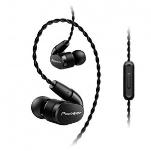 Pioneer Enclosed Dynamic Hi-Res Earbuds - Black