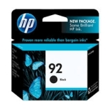 HP #92 Black Ink Cartridge