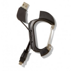 Nomad Micro-USB Carabiner Cable
