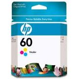HP #60 Tri-Colour Ink Cartridge