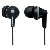 Panasonic Ergofit 125 In-Ear Headphones - Black
