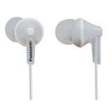 Panasonic Ergofit 125 In-Ear Headphones - White